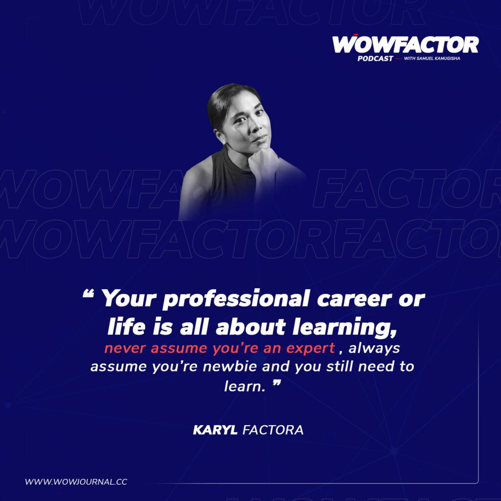 Karyl - WowFactor Quotes - 1