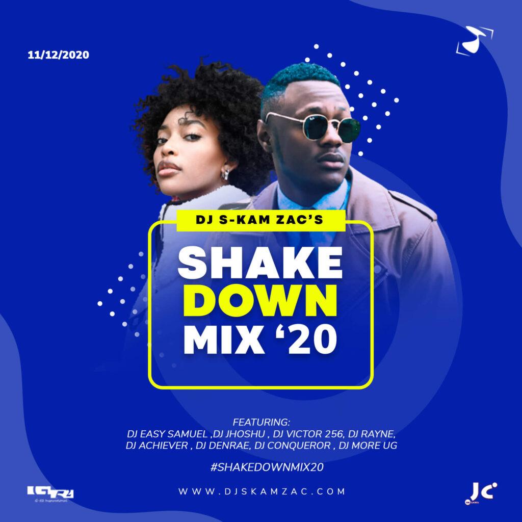 ShakeDownMix 2020 - Master Artwork