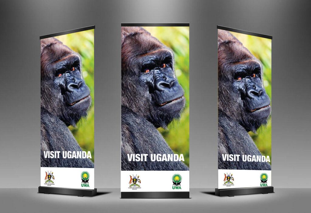 Visit Uganda Pullup