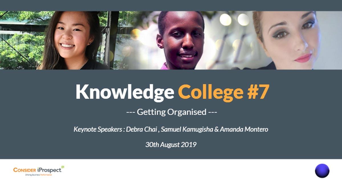 Knowledge-College---Getting-Organised